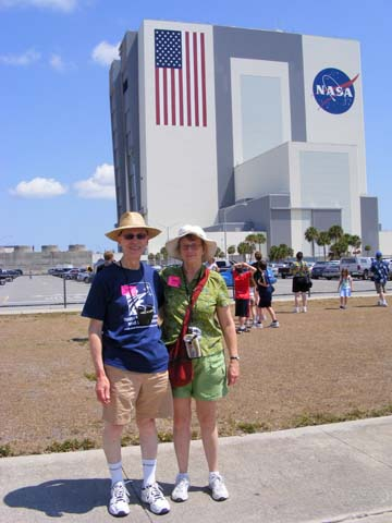 Al and Gail Holm standing in front 