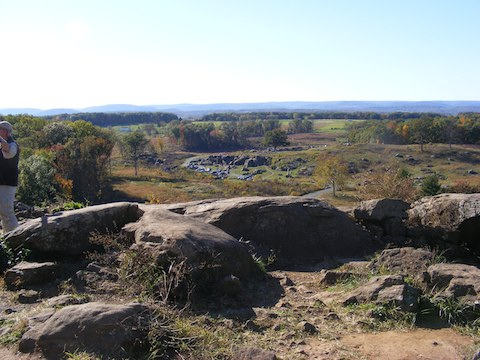 Devil's Den seen from